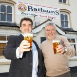 Matthew Batham & Martin Birch (Head Brewer)